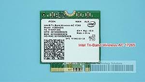 SUNNY-MARCHÉ Intel Tri-Band Wireless-AC 17265 Intel17265 802.11ad 80211.ac 4.7Gbps 867Mbps NGFF M2 Dual-band 2x2 AC carte sans fil BT4.0