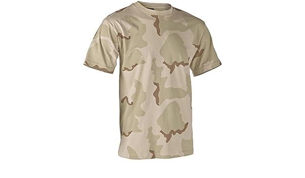 YuanDian Uomo Camuffare Maglietta Estate Casuale Allaperto Maniche Corte Leggero Asciugatura Veloce Traspirante Tattico Militare Camo Top Shirt