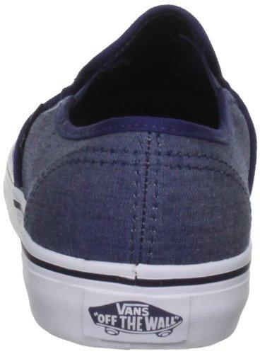 Vans Lp Slip, Baskets mode mixte adulte Bleu (Pcttrwt)