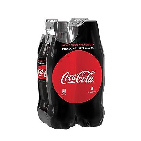 Coca Cola Zero Botella de Pl stico 500 ml