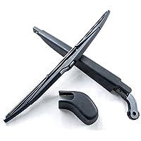 Limpiaparabrisas trasero y cuchillas 14pulgadas 350mm negro Conjunto de 2