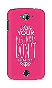 AMEZ your mistakes dont define you Back Cover For Acer Liquid Z530