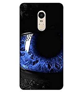 For Xiaomi Redmi Note 4 (2017 Edition) OM, Black, Omkar, Lord, Printed Designer Back Case Cover By CHAPLOOS