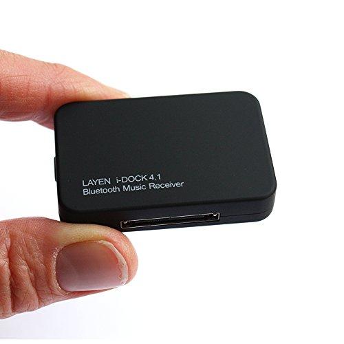 LAYEN i-DOCK Bluetooth 4.1 adaptateur audio stéréo avec multi-paire (paire de deux appareils!) Et aptX (son supérieur!) Transformez votre station d