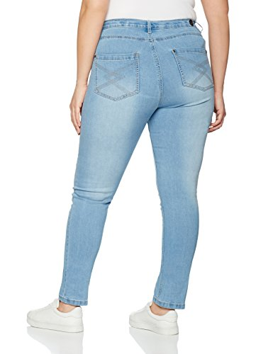 ADIA Damen Slim Jeans Milan Blau (Blue Sand 8383)
