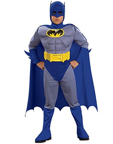 Batman Brave and Bold Deluxe Batman Child Costume - Medium (8/10)