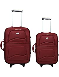 "VIDHI Luggage Combo Set (Pack Of 2) Trolley Bag 20""(Cabin Luggage) & 24"" (Check-in Luggage)"