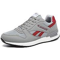 IIIIS-F Zapatillas Running Hombre Sneakers Calzado Deportivo Aire Libre y Deporte Gimnasia Respirable Zapatillas de Deportes 36-44