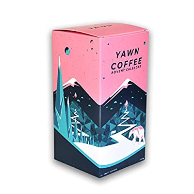 Coffee Advent Calendar 2019 - Ground Coffee - Fresh Speciality Coffee Gift Selection for Any Coffee Lover by - Yawn Coffee Co by Yawn Coffee Co