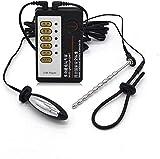 Elektrostimulationsgerät Kit, E-stim Reizstrom Set mit Harnröhren Dilatator Penisring und...