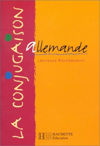 La conjugaison allemande par Bouchacourt
