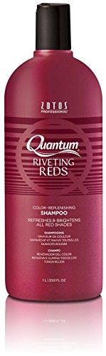 Quantum Riveting Reds Color Replenishing Shampoo 33.8 oz. by Quantum
