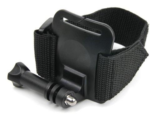 DURAGADGET Handschlaufen- / Handgelenk-Halterung mit Klettverschluss für die QUMOX Actioncam SJ4000 WiFi Action Sport Kamera und die CAMKONG Action Kamera Sports Wasserdichte Kamera (Kamera Unterwasser Sj4000 Wi Fi)