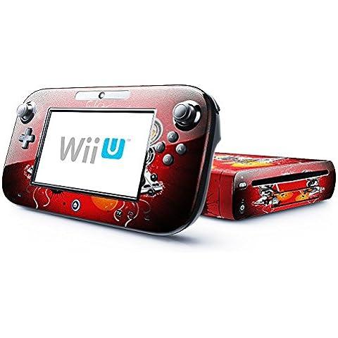 Mia Musica 10015, Chitarra, Skin Autoadesivo Sticker Adesivi Pelle Cover Decal Set con Disegno Strutturato con Nintendo Wii U