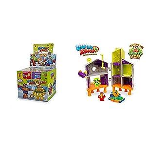SuperZings Serie 3 Caja con colección Completa de 8 Robots y 8 Figuras + Secret Lab Adventure 1, con 2 exclusivas Figuras