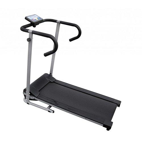 Festnight Sport Laufband Fitnessgerät Tretmühle mit 3 Zoll LCD Display Treadmill für Zuhause Büro