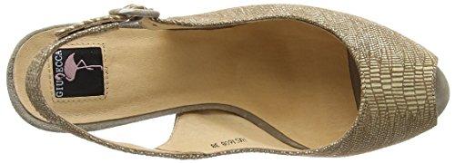 Giudecca Jycx15sb6-1 Damen Slingback Braun (C8 Brown)