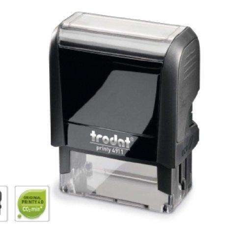 Stempelautomat Printy 5-zeilig 4912 schwarz mit Gutschein