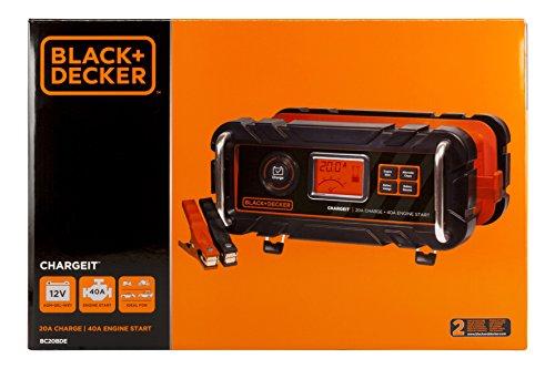 41JJFi oG1L - Black+Decker BC20BD Cargador 20 Arrancador 40 AMP