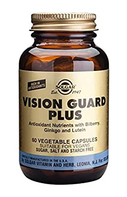 Solgar Vision Guard Plus Vegetable Capsules, 60