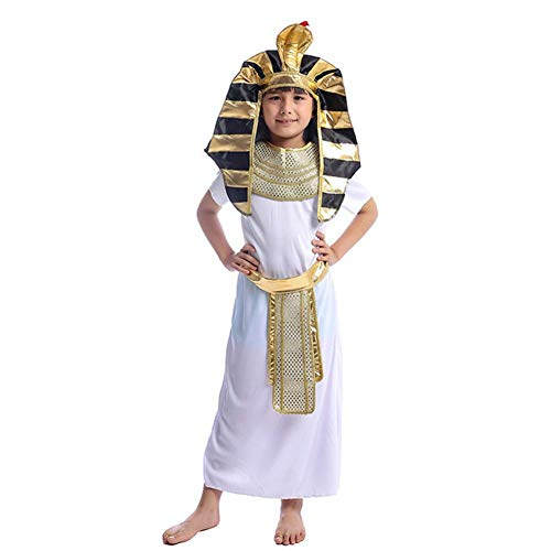 GUAN Boy Pharao Kostüm Halloween Spielshow Cosplay - 90 S Themen Kostüm Männer