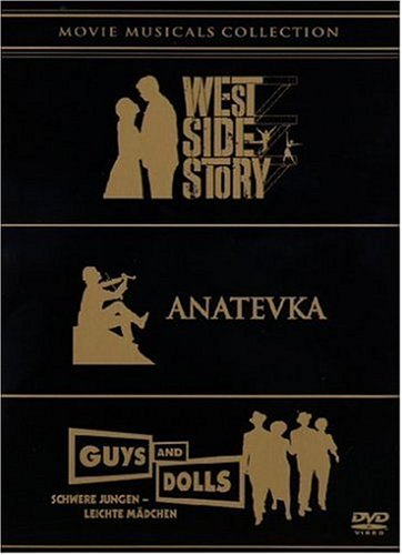 Bild von Movie Musicals Collection - West Side Story / Anatevka / Guys and Dolls [5 DVDs]