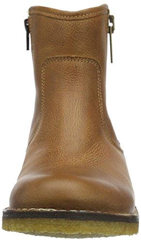 Ca'Shott A14067, Bottes courtes avec doublure chaude femme Marron - Braun (Camel/Cognac 36)