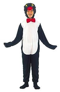 Bristol Novelty CC489 Traje Pingüino, Blanco, Pequeño, Edad aprox 3 -5 años