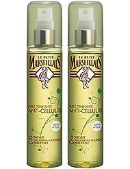 Le Petit Marseillais - Huile Anti Cellulite Tonifiante Thé Vert Anis 150 ml - Lot de 2