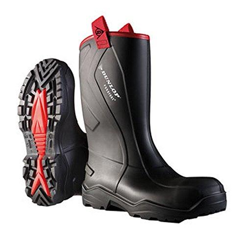 Dunlop Hommes Purofort Bottes De Pluie Robuste Étanches Caoutchouc Imperméable