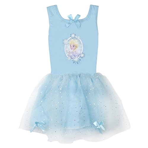 Disney Girl's Deluxe Princess Dress (Ages 3-6 Years) Sleeveless Tulle Outfit