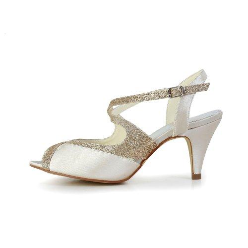 Jia Jia Wedding 594949 Scarpe Sposa Scarpe col tacco donna Sekt