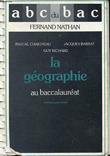 ABC GEOGRAPHIE TERMINALE. Edition 1983