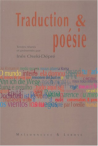 Posie et traduction