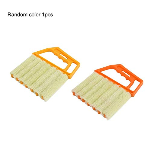 laonBonnie Multifunktionale Jalousie Bürste Fenster Klimaanlage Staubtuch Schmutz Staub Reinigung Reiniger Protable Home Clean Tool - zufällig -