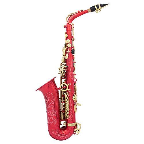 NUYI-2 Red White Key White Key White Shell Abalone Shell high end Drop E midrange Saxophon