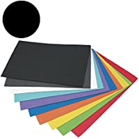 Campus University EVA-5065-BK - Goma, 2 mm, 10 unidades, 40 x 60 mm, negro