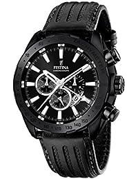 Festina Herren-Armbanduhr Chronograph Quarz Leder F16901/1