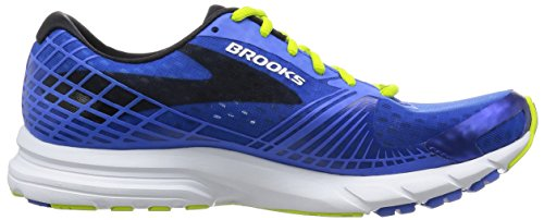 Brooks Launch 3 M, Scarpe da Corsa Uomo Electric Brooks Blue/lime Punch/black
