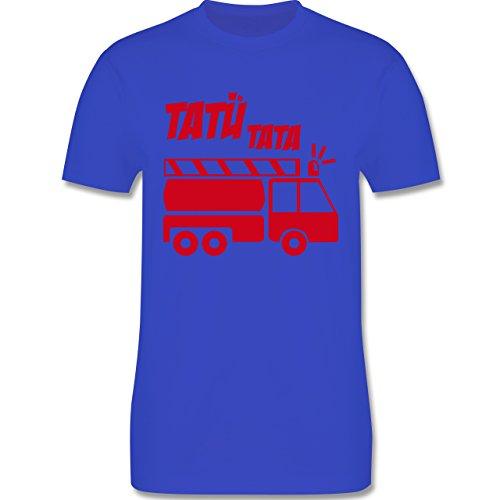 Feuerwehr - Tatü Tata - Herren Premium T-Shirt Royalblau