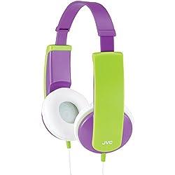 JVC HAKD6V Kidsphone Headphones (violet)