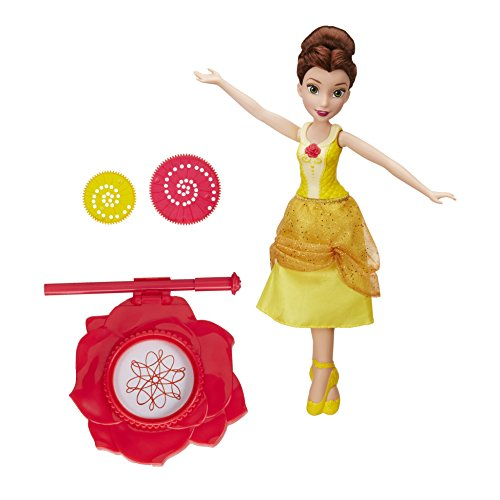 ncing Doodles Belle Puppe (Disney Princess Dress Up Kleidung)