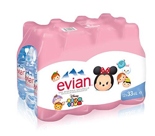 Evian Eau Minérale Naturelle Bouteille 12 x 33 cl focus_keyword} - 41JJRQbM4fL - Devriez-vous boire de l'eau en mangeant ?