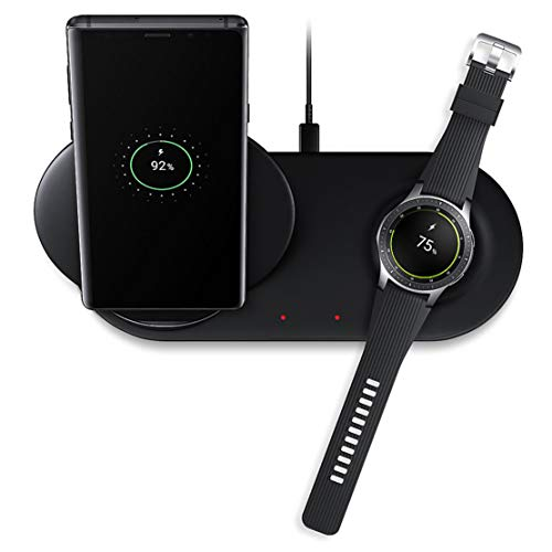 happy event Fast Wireless Charging Pad Ladehalterung für Samsung Galaxy Note 9 & Watch