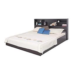 Forzza Westin King Size Bed (Wenge)