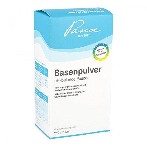 Basenpulver pH balance Pascoe, 260 g