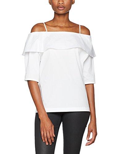 SET Damen Bluse Tunika Weiß (bright White 1000)