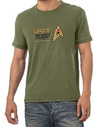 TEXLAB - Warning! Red Shirts! - Herren T-Shirt