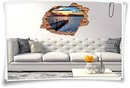 Wandbild Rückwand mit Galerie-Aufhängung