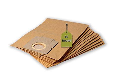 Staubsaugerbeutel passend für Moulinex 300 EL - Vectral | 10 Staubbeutel + 2 Mikro-Filter + 2 Motor-Filter | ähnlich wie Original-Beutel: W 56